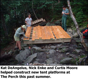 1000 images about tent platforms on pinterest cooking for Tent platform construction